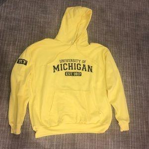 Other - Michigan yellow hoodie
